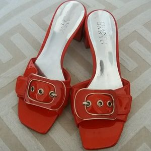 Buckle Slip on heels